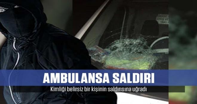 Diyarbakır'da Ambulans Taşlı Saldırıya Uğradı