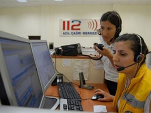 Bursa'da polis 112 Acil Servis sapığını arıyor