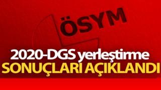 2020-DGS Yerleştirme Sonuçları Açıklandı