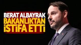 Berat ALBAYRAK'tan İstifa Paylaşımı