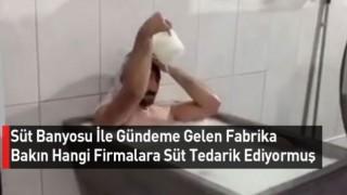 Süt Banyosu Yapmışlardı,Hangi Markalara Süt Verdiği Ortaya Çıktı!