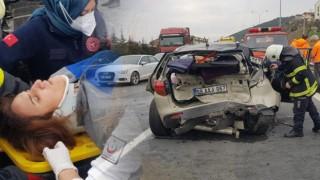 Sağlık Müdürlüğü Aracı Kocaeli'de Kaza Yaptı: 8 Yaralı