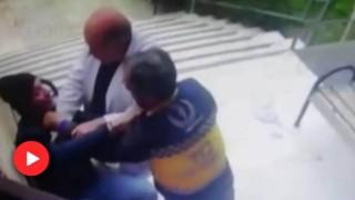 Sağlıkçılara Küfreden Kişi, Ambulans Sürücüsü Tarafından Etkisiz Hale Getirildi