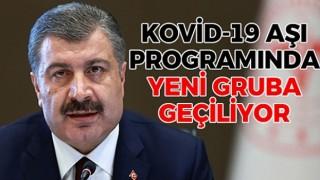 Kovid-19 Aşı Programında Yeni Gruba Geçiliyor
