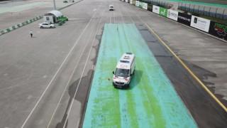 Ambulans Şoförleri Formula 1 Pistinde Eğitimde