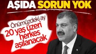 Türkiye'de Aşı Sorunu Bitti