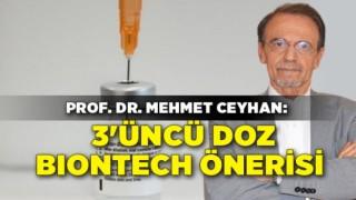 Sağlık Çalışanlarına 3'üncü Doz Biontech Önerisi