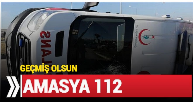 Ambulans Kamyonetle Çarpıştı: 5 Yaralı