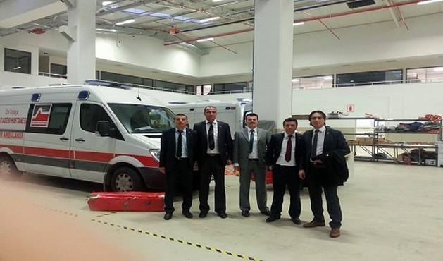 TAPDER : 7/24 Çalıştığımız Ambulansların Üretimini Yerinde İnceledik