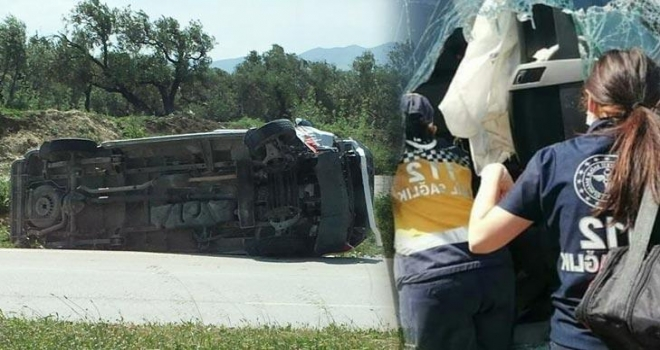 Ambulans İle Otomobil Çarpıştı! Yaralılar Var