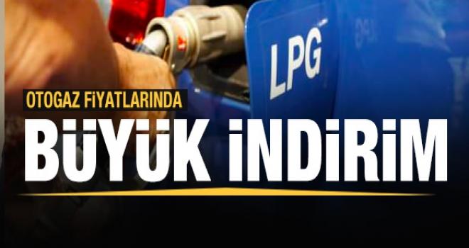 LPG Fiyatlarında Tarihi İndirim