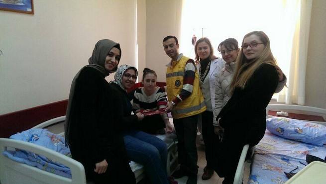 TAPDER Bursa'dan Lösemili Çocuklara Zİyaret