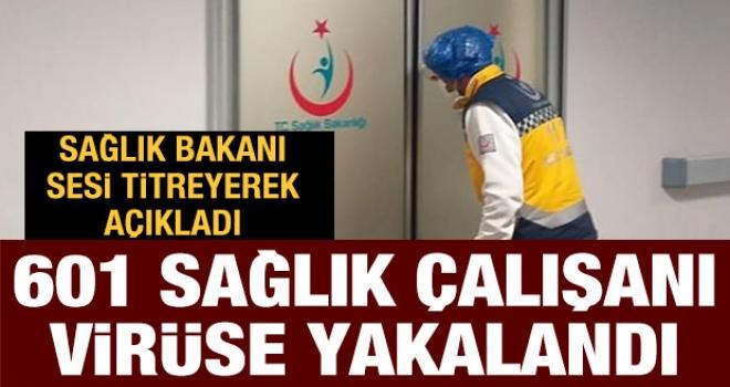 Sağlık Bakanı,Gözleri Dolarak Açıkladı: Türkiye'de 601 Sağlık Çalışanı Koronavirüse Yakalandı