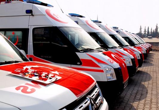 İstanbul Sağlık Müdürlüğü 30 ambulans hizmete aldı