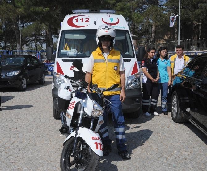 Bilecik 112 Motosiklet Ambulansarla Artık Daha Hızlı