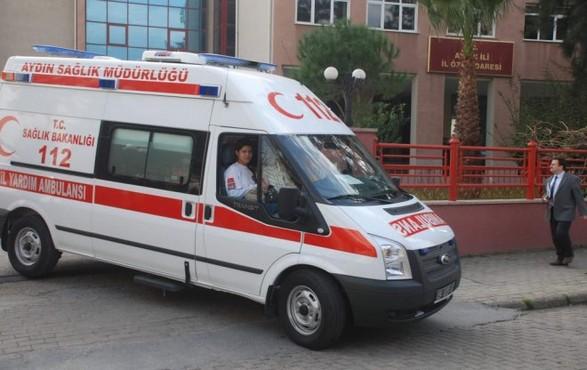 Aydın 112'ye 7 Ambulans Takviyesi