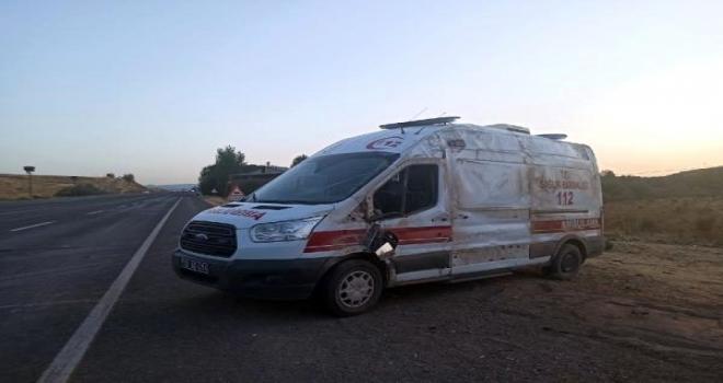 Ambulans Devrildi: 1 Yaralı