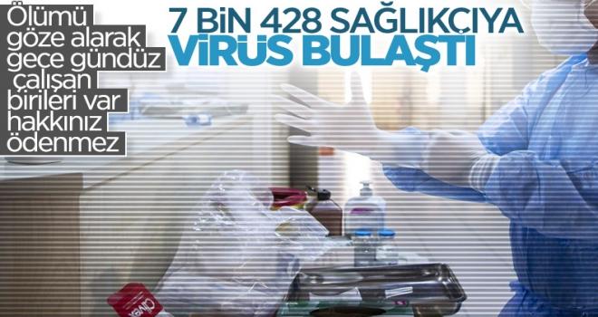 Fahrettin Koca: Enfekte Olan 7.428 Sağlık Çalışanımız Var