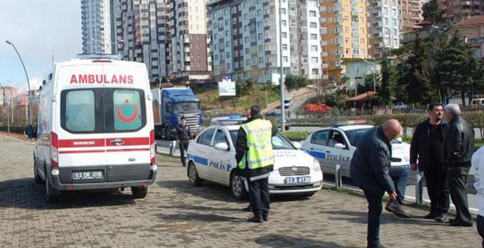 Rize'de Talihsiz Ambulans Kazası,1 Ölü!