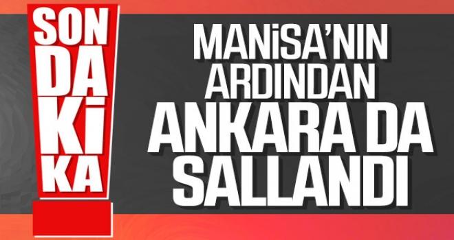 Manisa'nın Ardından Ankara'da Sallandı!