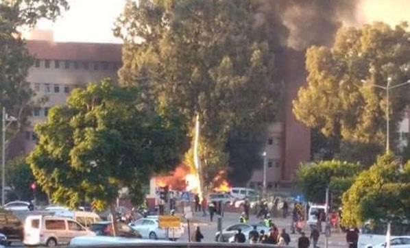 Bombacı kadın terörist 112 Acil üniformasıyla gelmiş