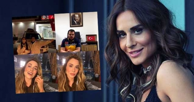 Ünlü şarkıcı Şimal, Eskişehir 112 Çalışanlarına Şarkılar Söyleyerek Moral Verdi