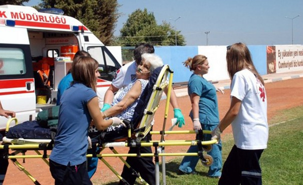 İlk yardım müdahalesini ambulansta yaptırın