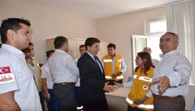 Sinop'ta Yeni 112 Komuta Kontrol Merkezi