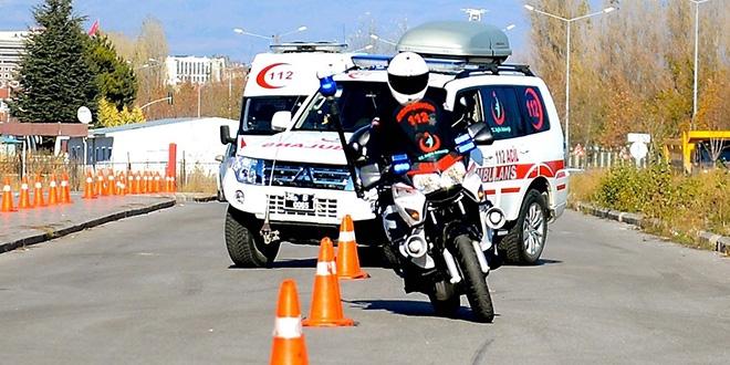 Eskişehir 112'den 'İleri Sürüş Teknikleri' Gösterisi