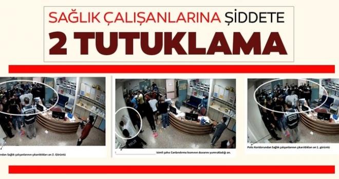 Keçiören'de Şiddet Olayına Karışan 2 Şüpheli Tutuklandı