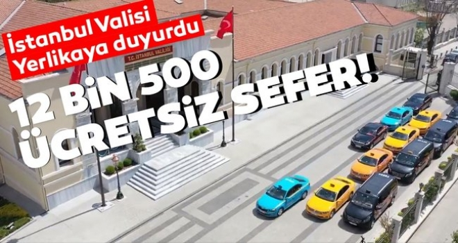 İstanbul Valisi Sağlık Çalışanlarına Müjdeyi Verdi!