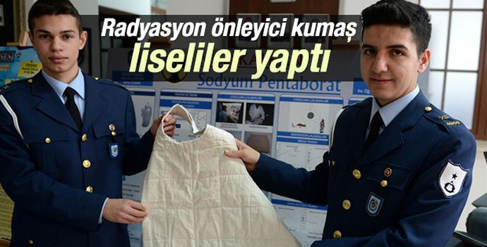 Bursa'da radyasyondan koruyucu kumaş üretildi