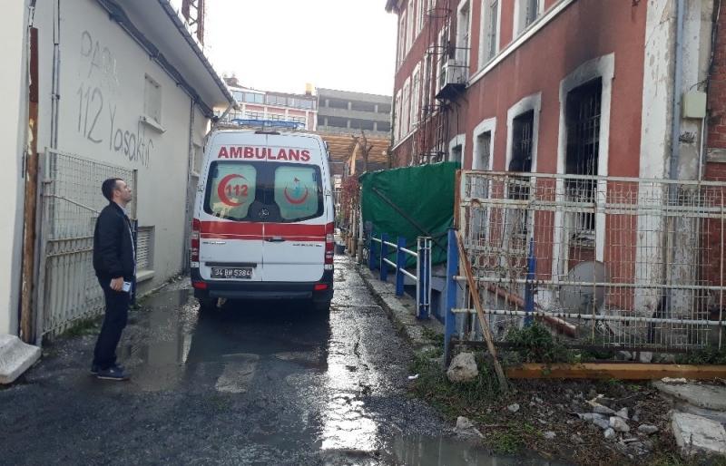 İstanbul 9 Nolu ASH İstasyonunda Yangın!