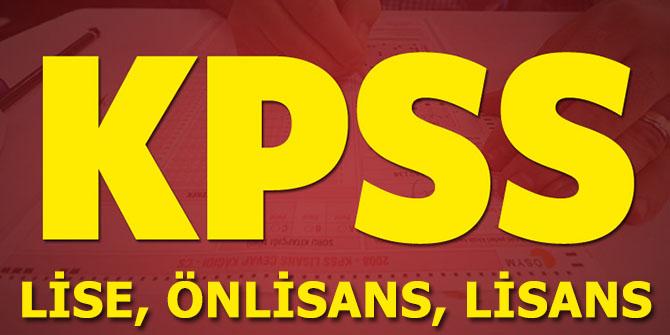 ÖSYM,Lise Önlisans ve Lisans KPSS Sıralamalarını Güncelledi