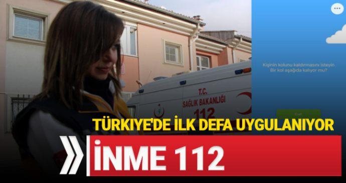 Türkiye'de İlk Defa Uygulanıyor: İnme 112