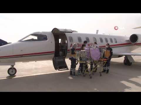 Ambulans Uçakla Bir Günde İki Bebek Operasyonu