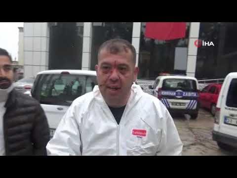 Hatay'da Ambulans Şoförünü Darp Ettiler
