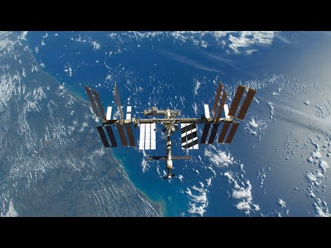 International Space Station NASA View With Map - 1220 - 2020-10-23