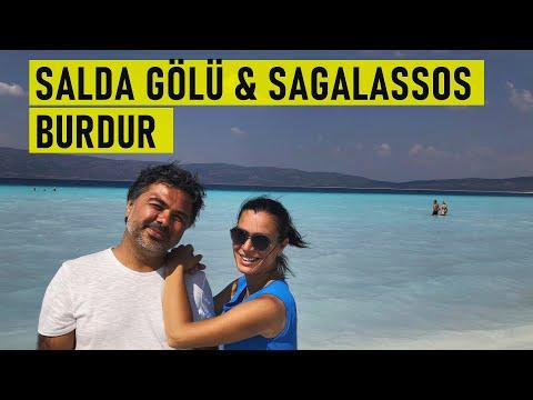 Salda Gölü, Sagalassos ve Burdur'un Gezilecek Yerleri
