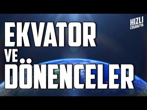 Ekvator Nerede? Dönenceler Nedir? | TYT COĞRAFYA