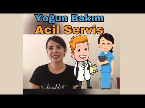 Yoğun Bakım Hemşireliği vs Acil Servis Hemşireliği!