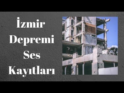 İzmir Depreminde Enkaz Altında 112 Acil Çağrı Merkezini Arayıp İsteyenlerin Ses Kayıtları!