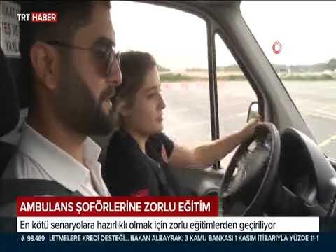 Ambulans Sürücüleri İleri Teknik Sürüş Eğitimi ile İstanbul Trafiğine Hazır...